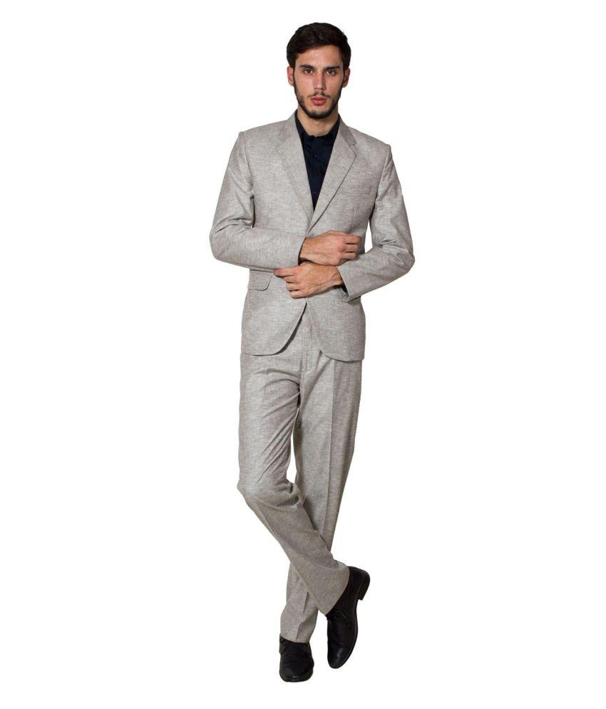 Wintage Beige Poly Blend Suit