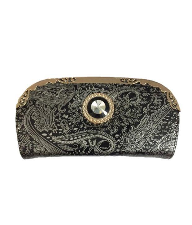 Slunk  Silver Non Leather Long Wallet