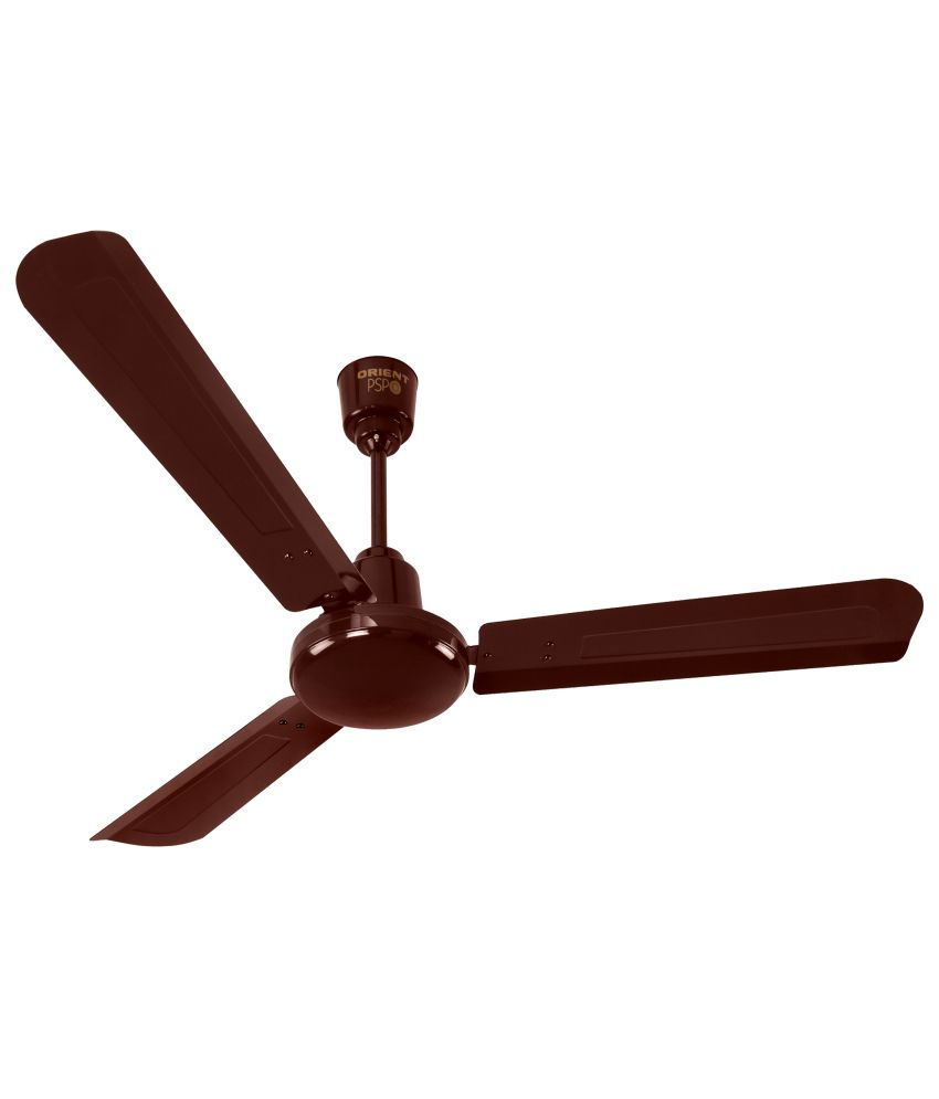 Price To Install Ceiling Fan: Orient Electric 48 Energy Star Ceiling Fan Brown Price In
