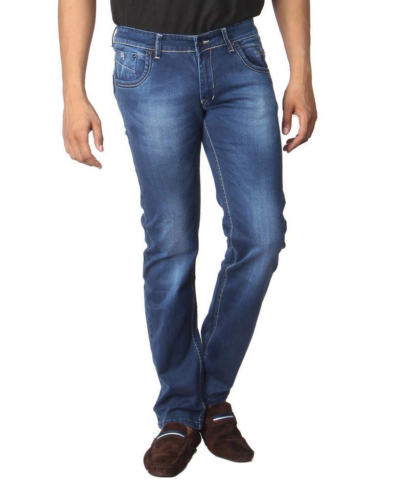 Dimitri Blue Regular Fit Jeans