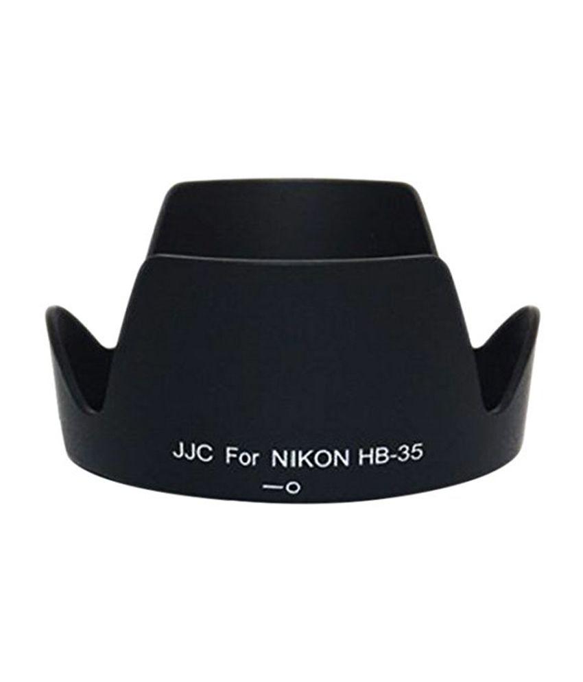 JJC LH-35 Lens Hood for Nikon - Black