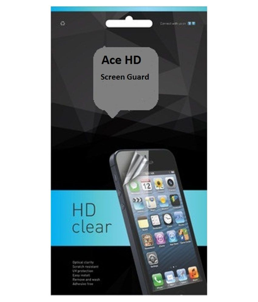 Racip Clear Screen Guard For Moto E 2nd Gen.