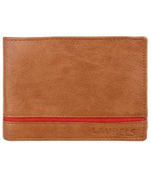 Laurels Non Leather Tan Men's Regular Wallet