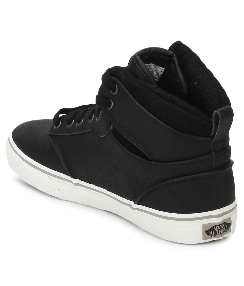 8e9e75409e2e Vans Atwood Hi Black Casual Shoes - Buy Vans Atwood Hi Black Casual ...