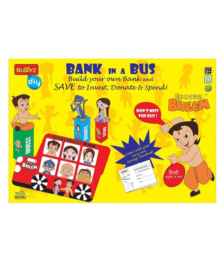 Buddyz Chhota Bheem Bank In A Bus
