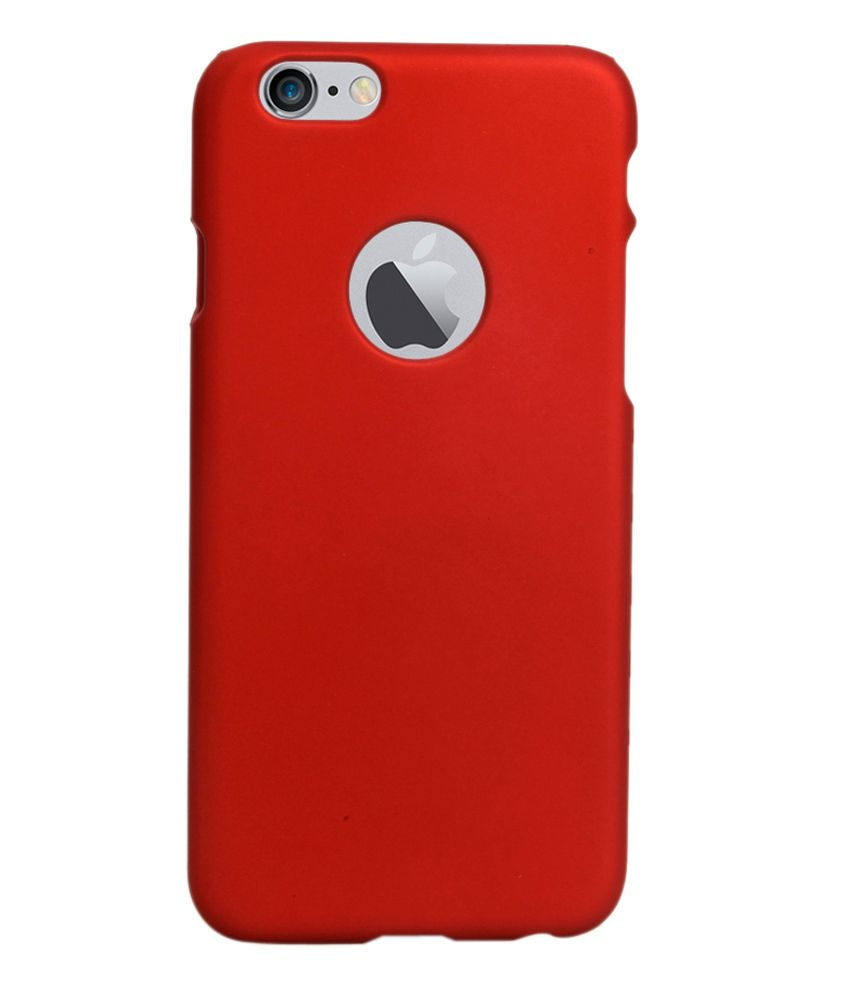 RDcase Back Cover For Apple iPhone 6 Plus - Red