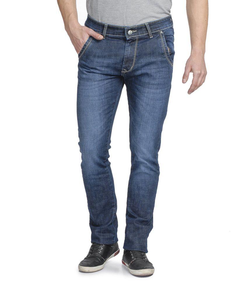 Ruace Blue Slim Fit Jeans
