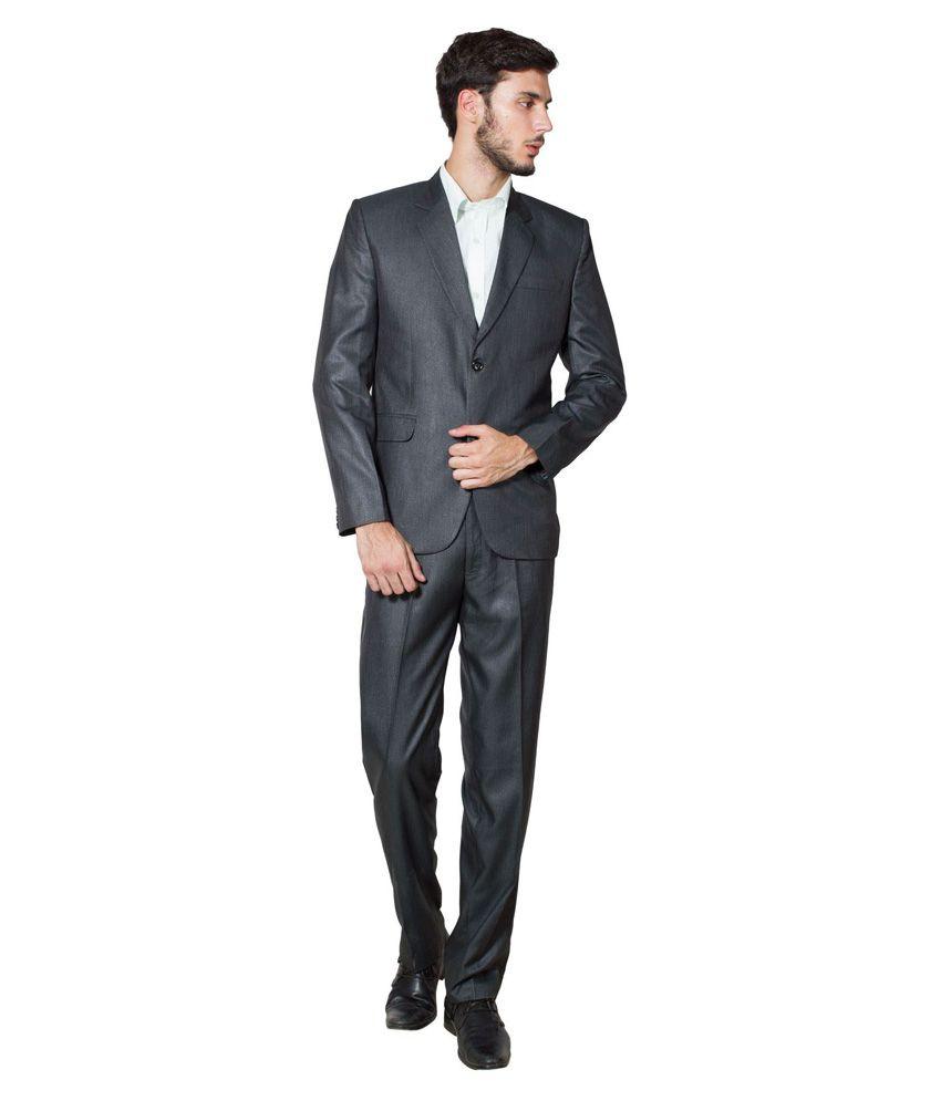 Wintage Black Formal Suit