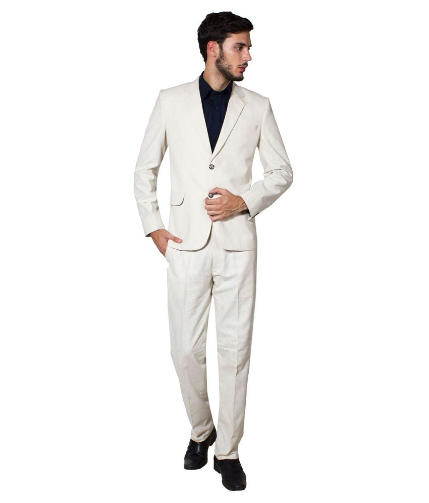 Wintage White Formal Suit