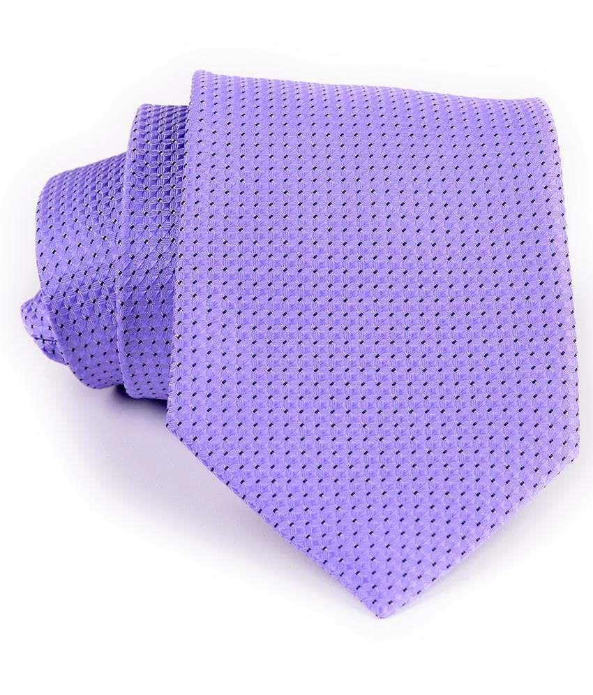 Aeht 1010-481 Purple With Self Texture Design Necktie