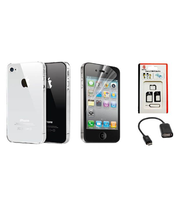 apple iphone deals brand deals back cover for apple iphone 4s transparent 9053