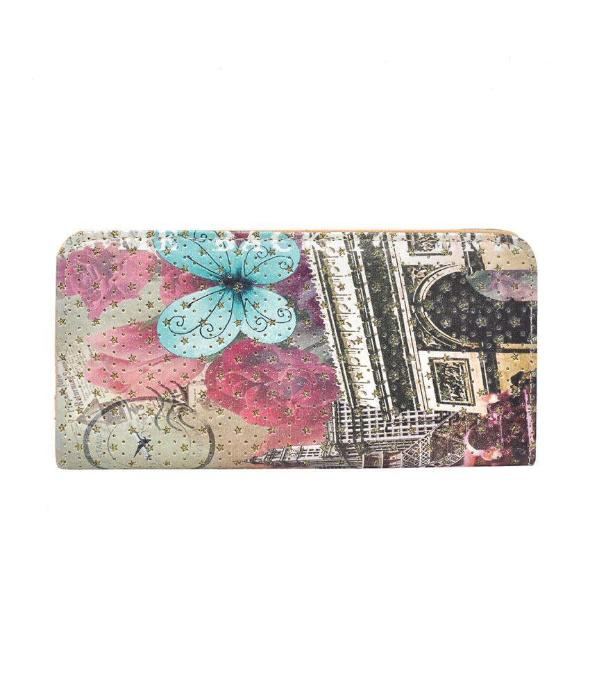 Hawai Multicolor Polyester Casual Regular Wallet