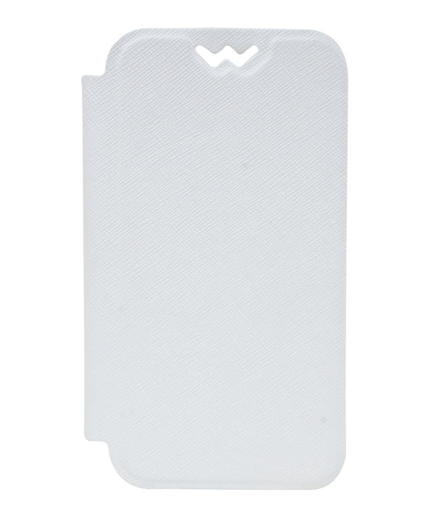 SNE Flip Cover For Huawei Ascend P2 - White