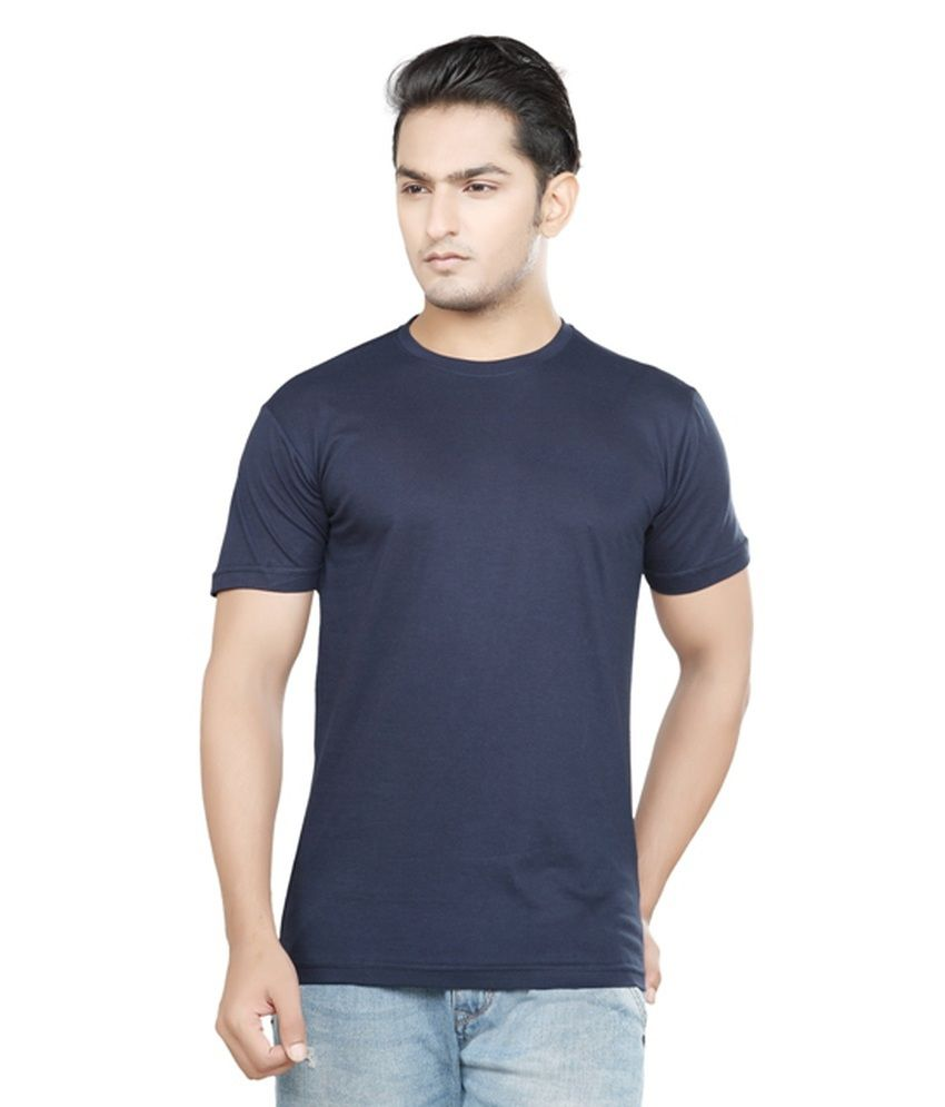 Zc Black Cotton Blend T-shirt