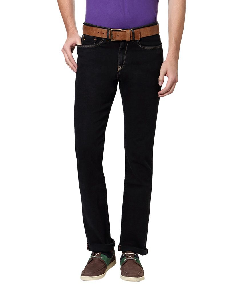 Allen Solly Black Casual Jeans