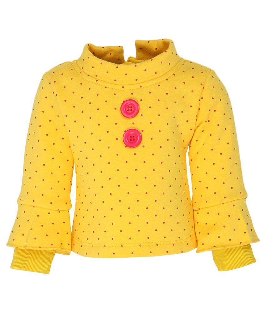 Little Kangaroos Yellow Sweat Top