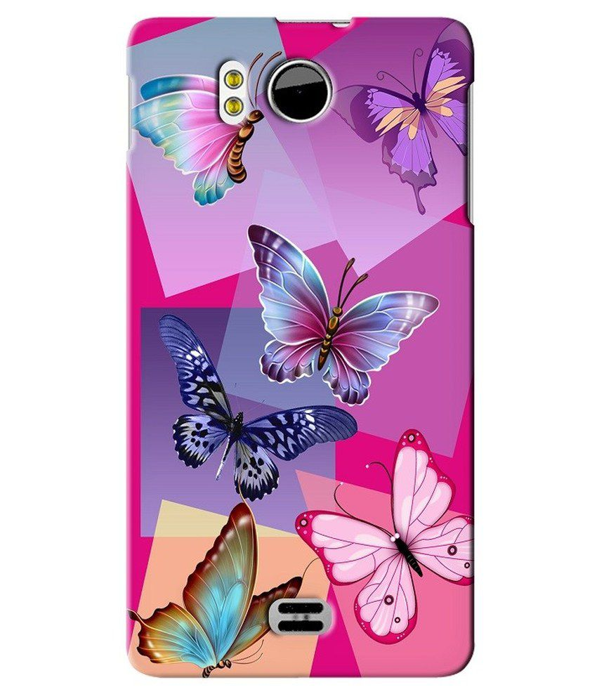 best service ba7e6 65734 Snooky Back Cover For Micromax Canvas Doodle A111 - Multicolour