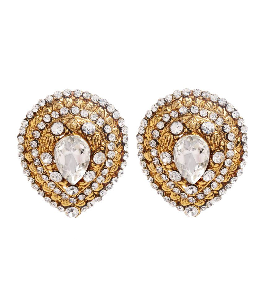 Tsquare Bridal Stud Earrings