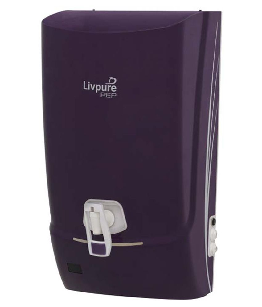 livpure Pep RO 7 L RO Water Purifier light purple