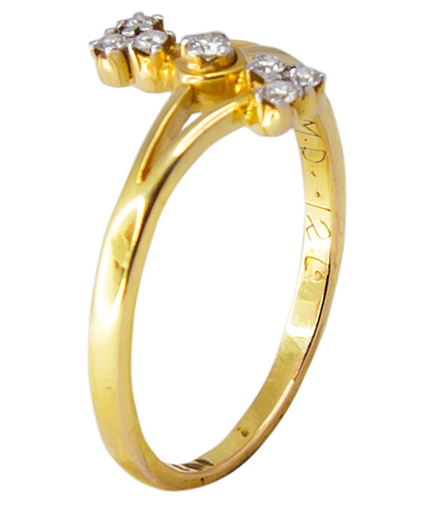 Starrays Diamond 18Kt Gold Designer Ring