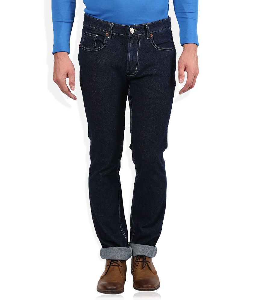 Numero Uno Blue Regular Fit Jeans