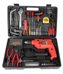 SNS Powerfull Drill Machine with 102 Pcs Toolkit Set