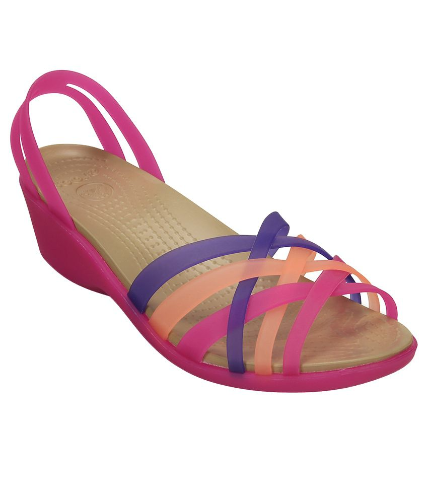 c869be2a1a2e Crocs Purple Heeled Slip-on   Pump Relaxed Fit Price in India- Buy Crocs  Purple Heeled Slip-on   Pump Relaxed Fit Online at Snapdeal