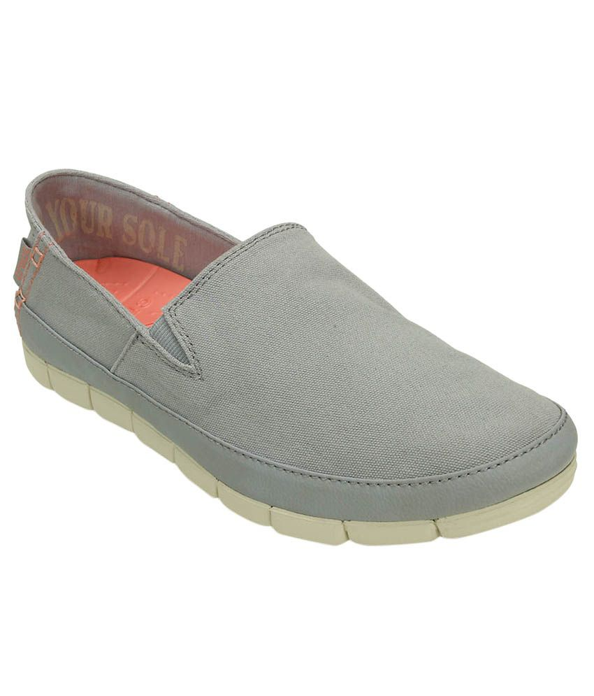 Crocs Gray Casual Shoes Relaxed Fit