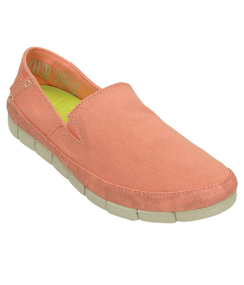 Crocs Pink Casual Shoes Relaxed Fit