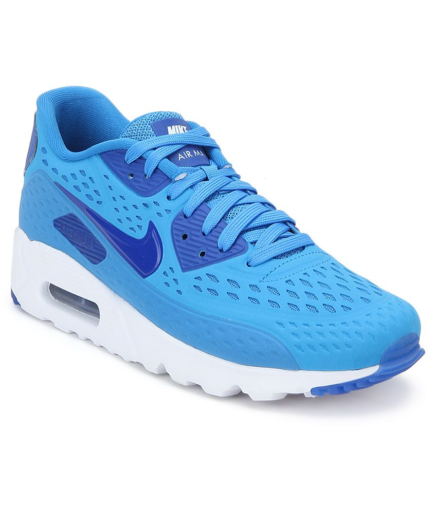 f7d53c161eeb Nike Air Max 90 Ultra Blue Sports Shoes - Buy Nike Air Max 90 Ultra Blue  Sports Shoes Online at Best Prices in India on Snapdeal