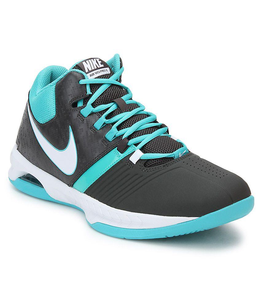 14290417c3c ... sweden nike air visi pro v black basketball sports shoes 1fcf1 2cdc7