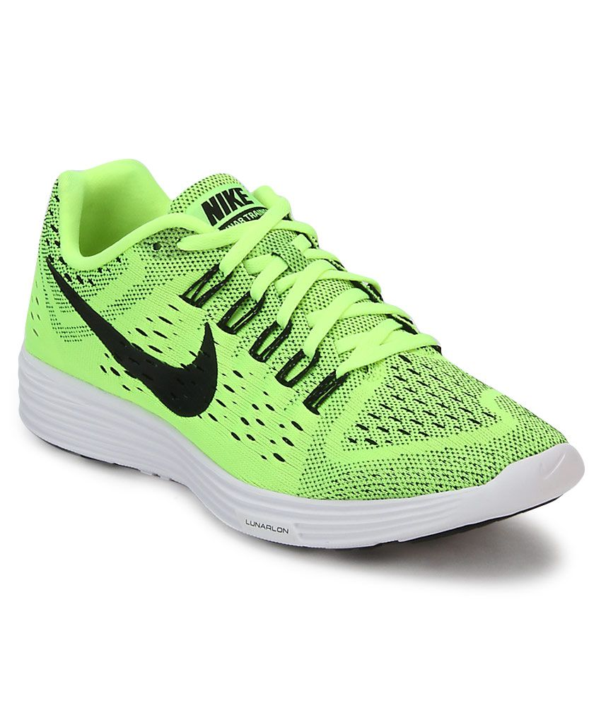 nike lunartempo green sports shoes buy nike lunartempo