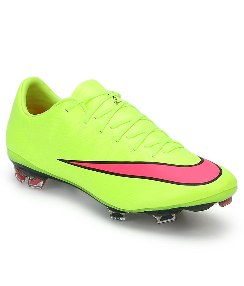 Nike Mercurial Vapor X Green Sports Shoes - Buy Nike Mercurial Vapor ... b415c2db8809