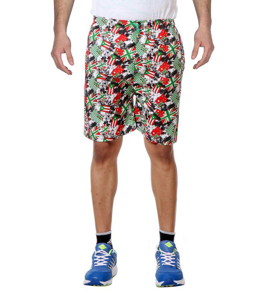 Primodevoir Enterprises Black Polyester Shorts