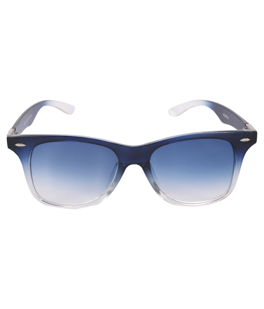 Camerii Green Wayfarer Sunglasses