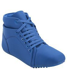Hansx Blue Casual Shoes