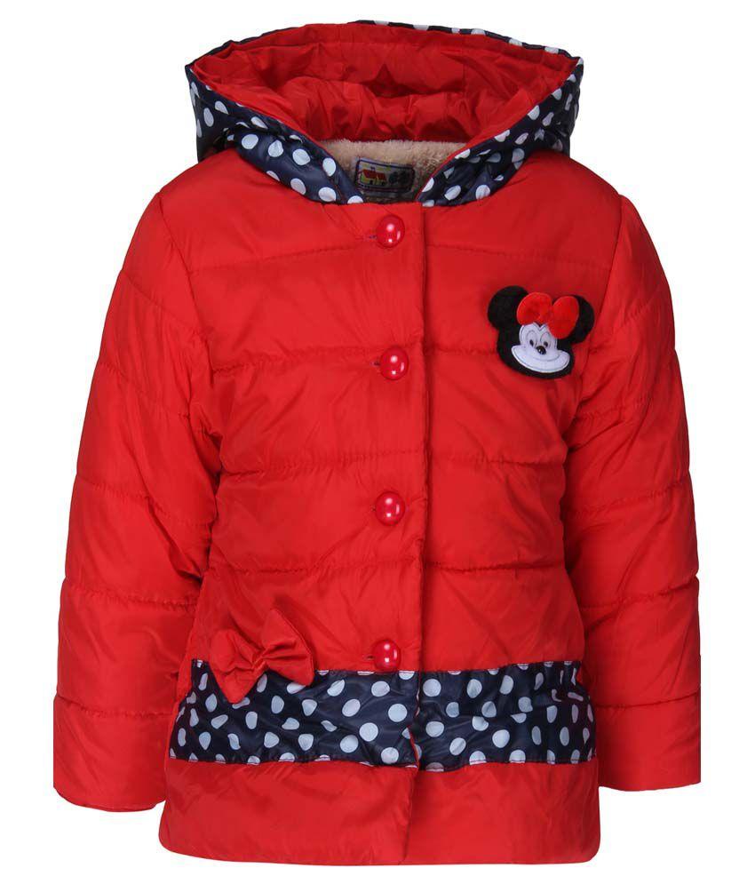 Sakhi Sang Red Full Sleeves Jacket