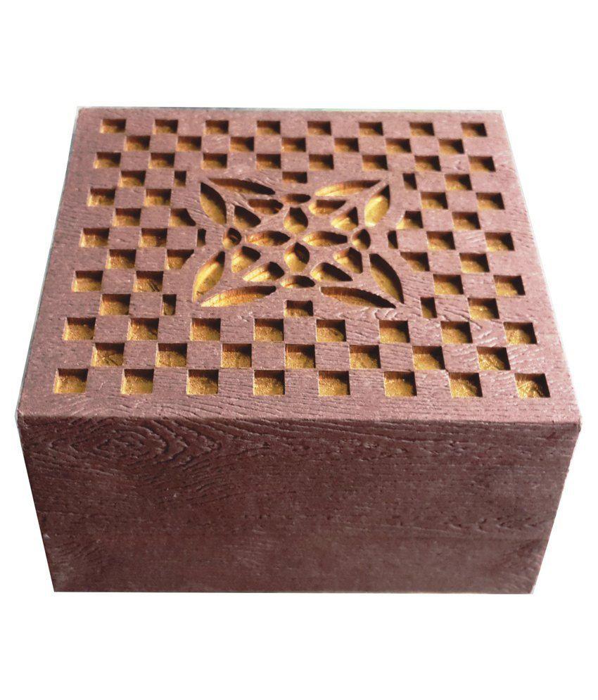 AIW Wooden Brown Light Design Bangle Box