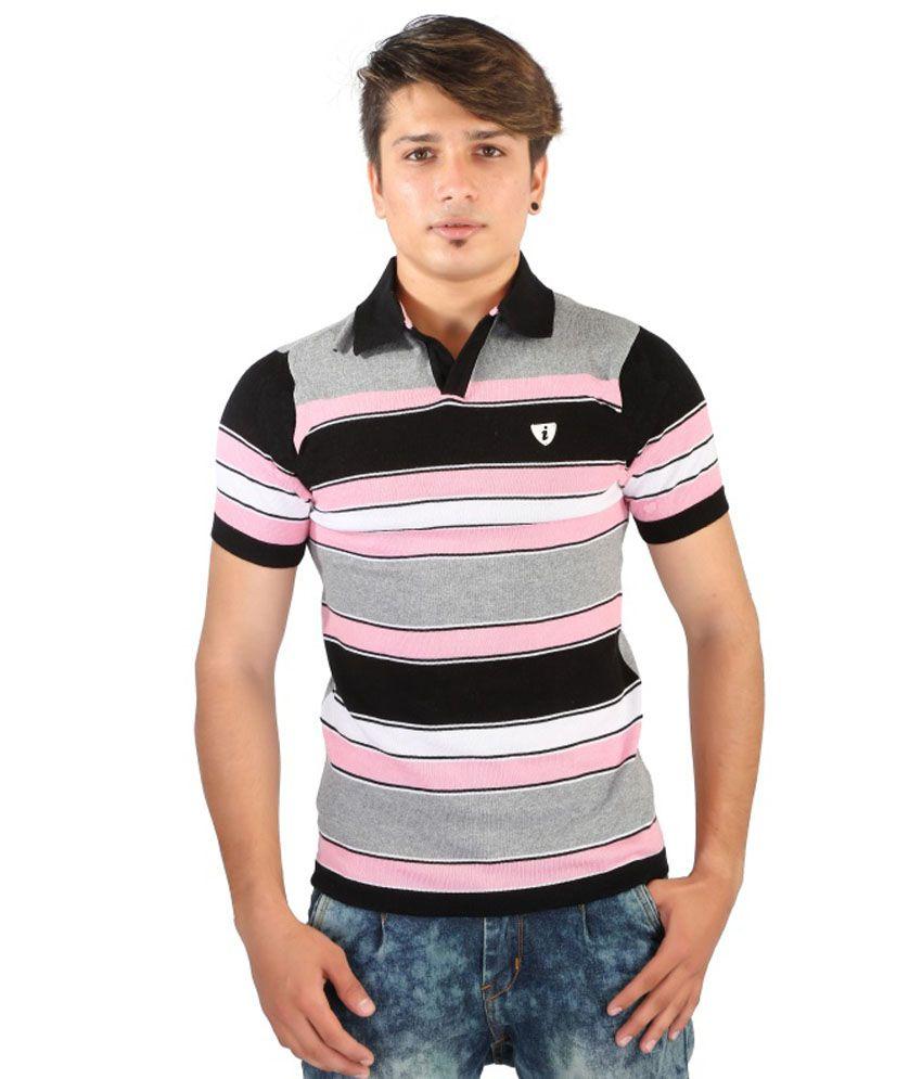 Igs Pink Cotton T-Shirt