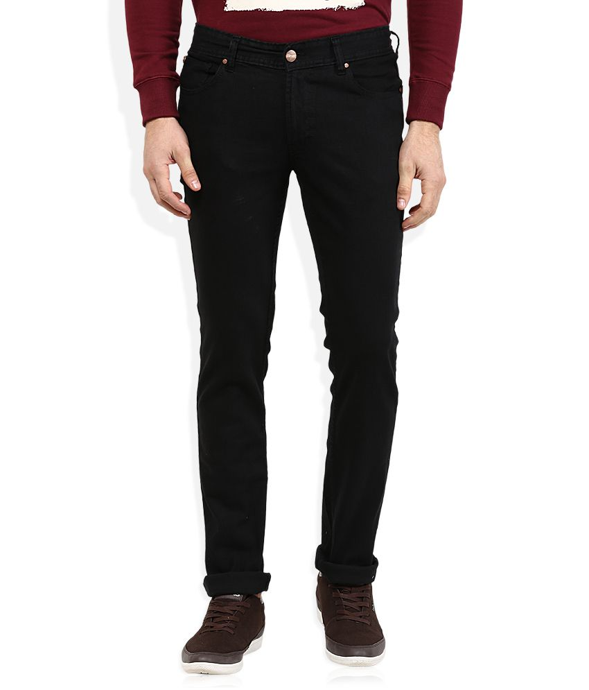 Numero Uno Black Slim Fit Jeans