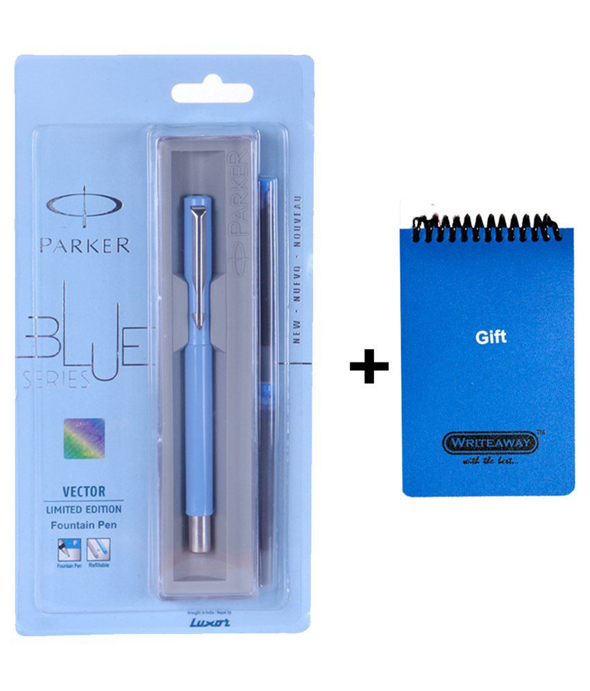 Parker Vector Limited Edition Fountain Pen With - Writeaway Diary