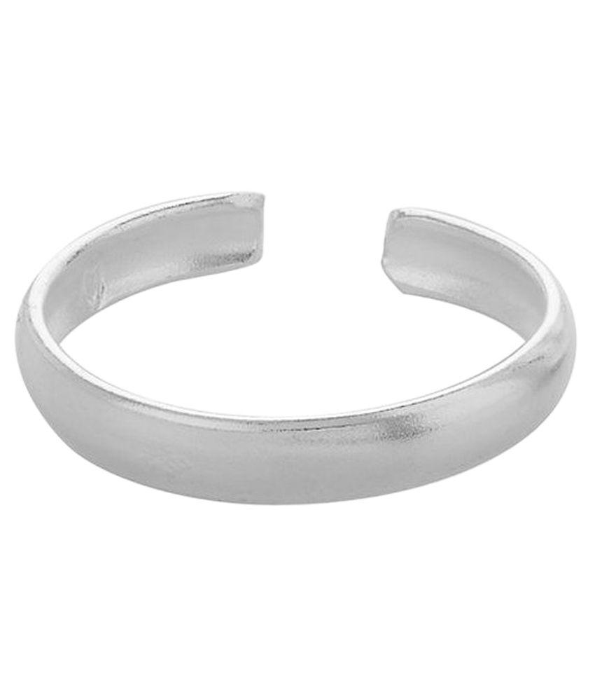Adornz Silver Toe-ring - Set Of 6