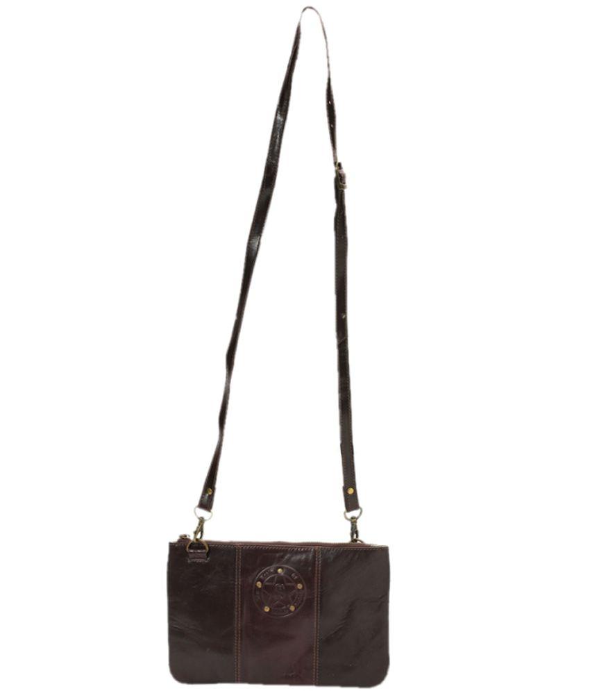Kern Brown Sling Bag