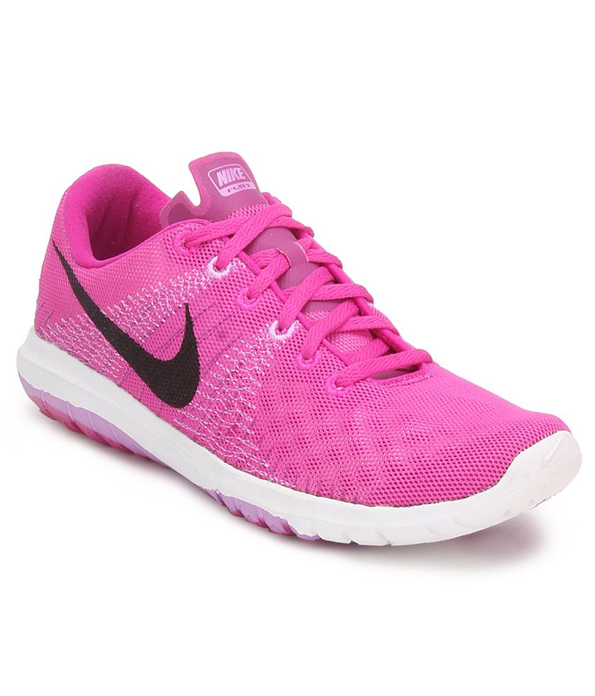 13e6bd0fea26 Nike Flex Fury Pink Sports Shoes Price in India- Buy Nike Flex Fury Pink  Sports Shoes Online at Snapdeal