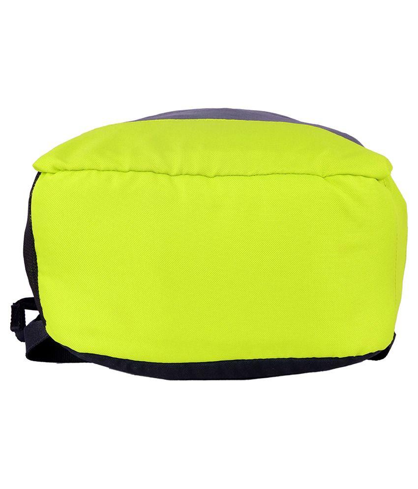 adidas neon green backpack