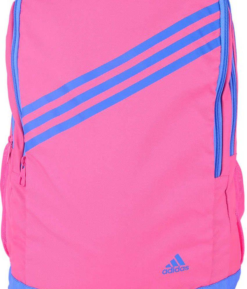 adidas pink backpack