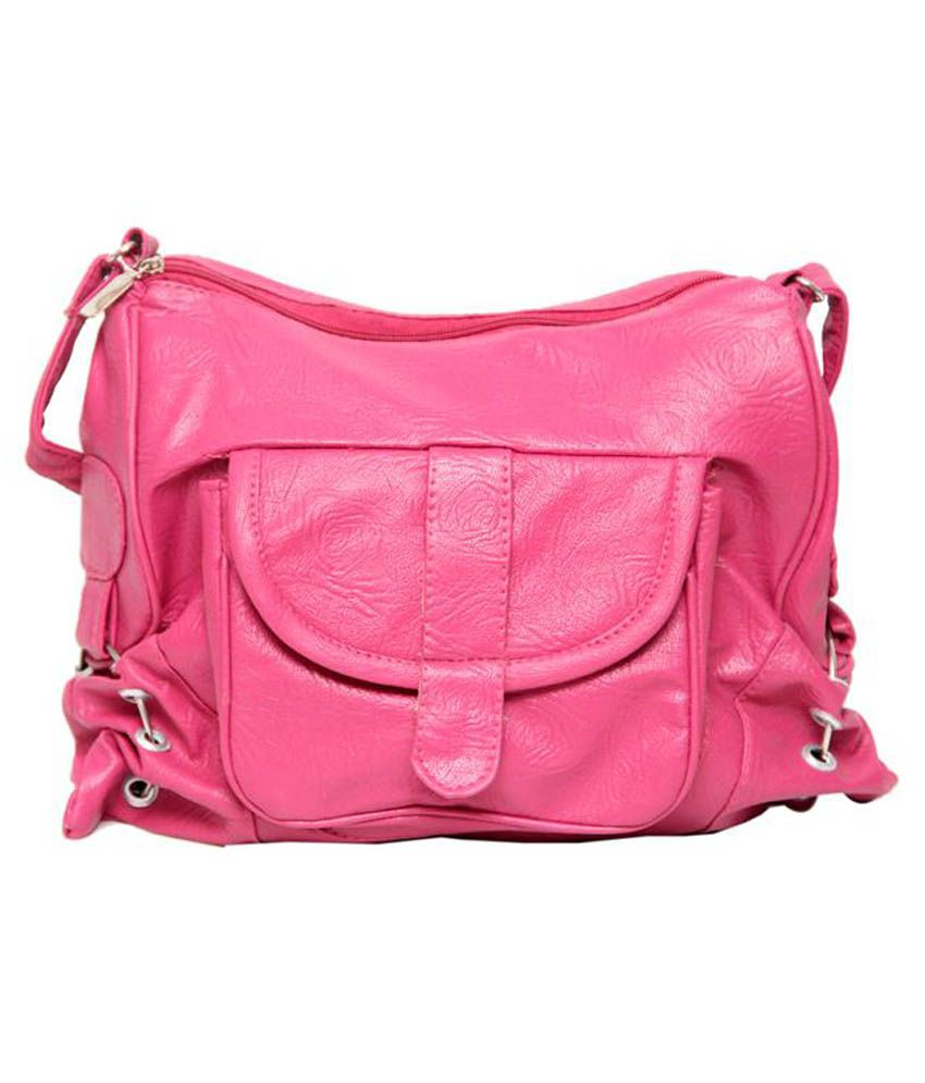 Borse Bag In Silicone : Borse pink sling bag buy at