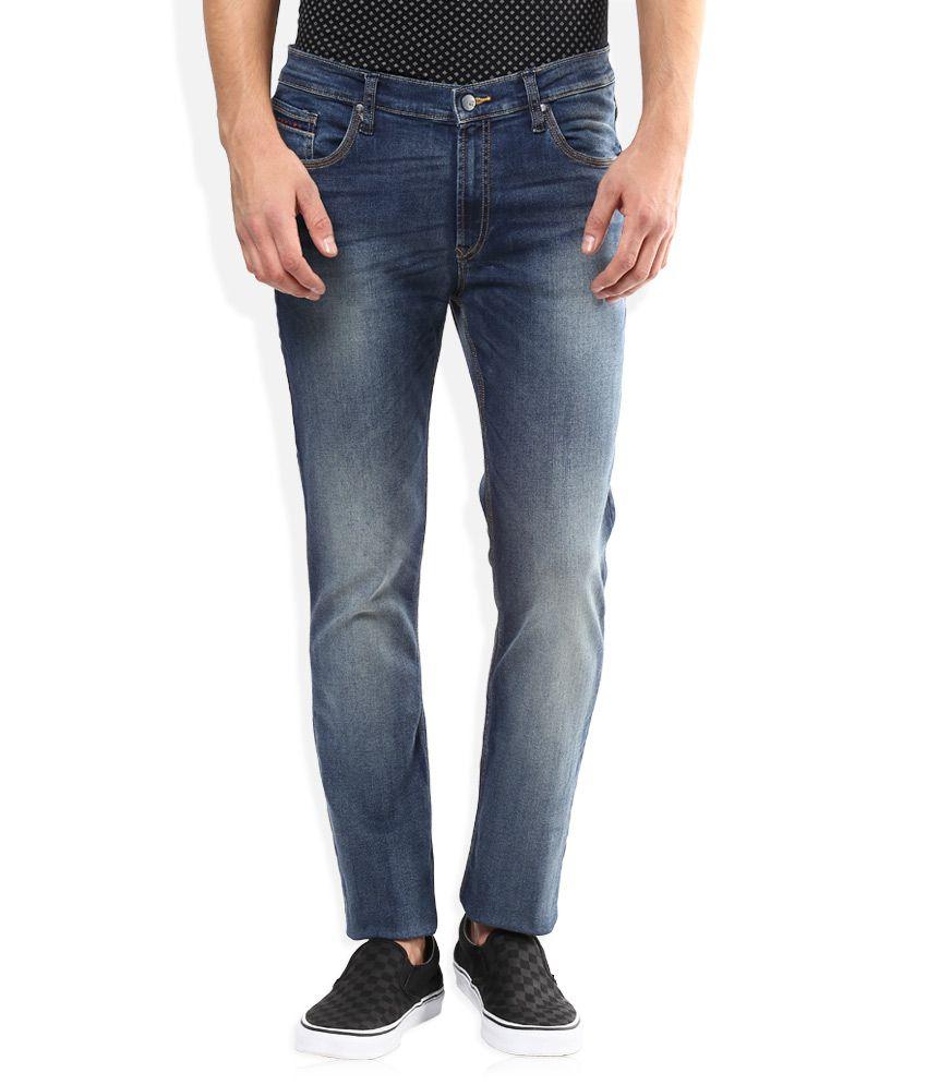 Lee Blue Bruce Skinny Fit Jeans