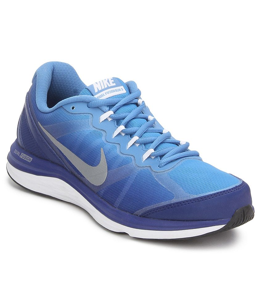 74e5a42681cd9 Nike Dual Fusion Run 3 Msl Prm Blue Sport Shoes