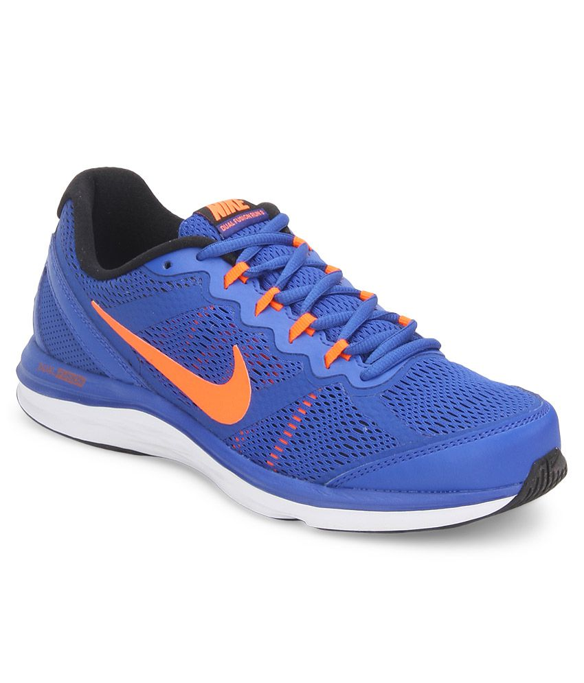 new styles a665a 7ac1e Nike Dual Fusion Run 3 Msl Blue Sport Shoes